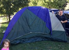 4 Person Coleman tent in Naperville, Illinois