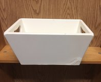 White box planter in Naperville, Illinois