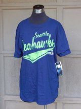 SEATTLE SEAHAWKS Reversible Team Apparel T-Shirt *** NEW with TAGS *** in Tacoma, Washington