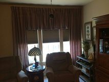 drapes window treatment size 108 across good condition in Oklahoma City, Oklahoma
