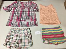 Girls tops & shorts - size 4T in Naperville, Illinois
