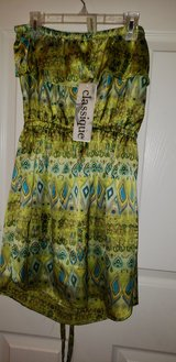 Strapless Kiwi dress New with tag in Pleasant View, Tennessee