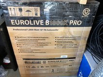 Behringer B1800XP 18in 3000W Active Subwoofer New in the box in Alamogordo, New Mexico