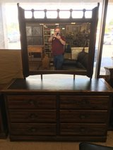 Dresser with mirror in Warner Robins, Georgia