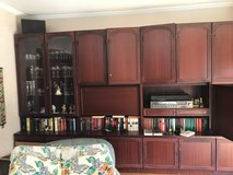 German wall unit including bar compartment for sale in Spangdahlem, Germany