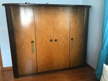 solid wood armoire from the 1950's in great condition in Spangdahlem, Germany