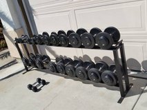 Gym dumbbells weights in Camp Pendleton, California