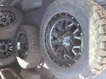 "20"" Fuel Crunch Wheels w/ BFG KO2 285/65 tires in Fort Carson, Colorado"