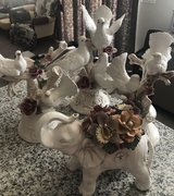 4 pieces of porcelain display (Made in Italy) in Nellis AFB, Nevada