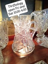 antique Crystal@ thriftology in Camp Lejeune, North Carolina