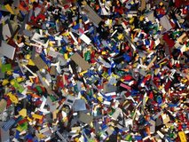 Legos 2.5 Pounds Bulk Random Clean Assorted Parts & Pieces in Yorkville, Illinois