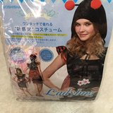 Used Once Women's Ladybug Costume (M/L) in Okinawa, Japan