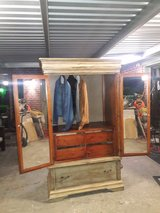 Armiore/Entertainment center refurbished shabby chic. in Conroe, Texas
