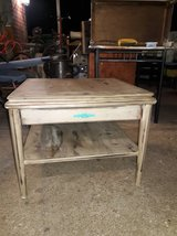 vintage end/side table refurbished shabby chic in Tomball, Texas