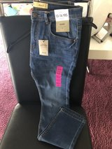 bnew teens boy skinny jeans size 13-14y in Ramstein, Germany