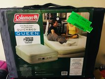 New air bed $129.99  at the bx never use in Okinawa, Japan