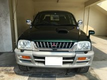 1998 MITSUBISHI STRADA 4WD TRACK  DIESEL CAR WITH TRAILER HITCH in Okinawa, Japan