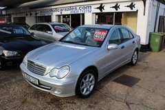 **Mercedes C220 Cdi Automatic!**1 OWNER+FREE ROAD TAX! 6 MONTHS WARRANTY! in Lakenheath, UK
