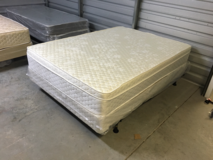 New thick Queen Pillow top matt and box in Camp Lejeune, North Carolina
