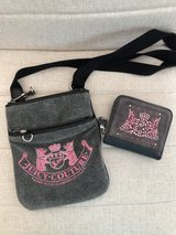 Like new Juicy Couture crossbody purse and matching wallet. in Spring, Texas