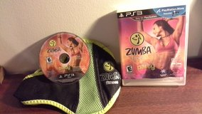 Zumba Fitness Join The Party bonus Belt playstation move PS3 in Yorkville, Illinois