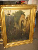 LARGE ANTIQUE OIL PAINTING ( AS IS ) in Yucca Valley, California