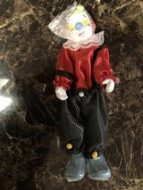 5 Different Porcelain Doll Clowns CHOICE in Fort Knox, Kentucky