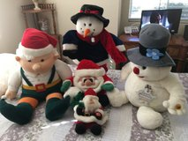 Plush style christmas Dolls in Travis AFB, California