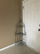Corner Plant Stand Silver in St. Charles, Illinois