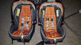 Two car seats in Olympia, Washington