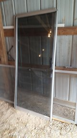 Aluminun Patio Doors with Screen Door in Fort Leonard Wood, Missouri