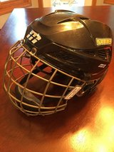 Mission Cascade M11 hockey helmet combo, size small in Bolingbrook, Illinois