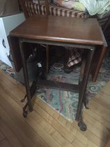 refurbished typewriter table/end table in Elgin, Illinois