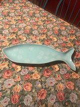 Fish shaped serving plater in Batavia, Illinois