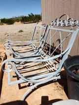 Heavy metal chairs in Alamogordo, New Mexico