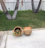new flower pots in Travis AFB, California