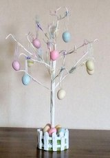 Easter Tree with Eggs - Nbr 64 in Lakenheath, UK