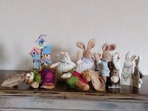 Assorted Easter Rabbit Ornaments - Nbr 12 in Lakenheath, UK