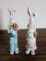 White Statue Rabbit Ornaments - Nbr 11 in Lakenheath, UK