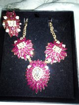 Ruby Necklace and Ring Costume Jewelry - Nbr 24 in Lakenheath, UK