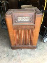 1940's Philco phonograph Radio in Fort Benning, Georgia