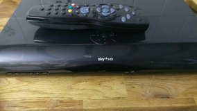 sky+HD 2TB box plus remote. in Lakenheath, UK