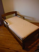 Solid Wood Toddler Bed in Camp Lejeune, North Carolina