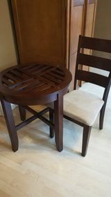 partial dining table and 3 chairs in Orland Park, Illinois