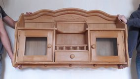 Hanging cabinet in Ramstein, Germany