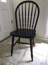 Set of 4 Black Chairs in Hinesville, Georgia