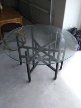 Glass table in Cleveland, Texas