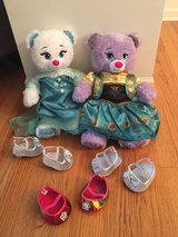 Elsa and Anna Build-a-Bear in Yorkville, Illinois