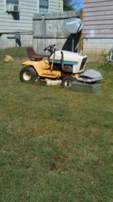 Riding mower in Hopkinsville, Kentucky