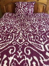 Gorgeous Trina Turk twin comforter & sham in Kingwood, Texas